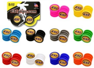 ESI barevné špunty - ESI Bar plugs colored - Černá/ Black